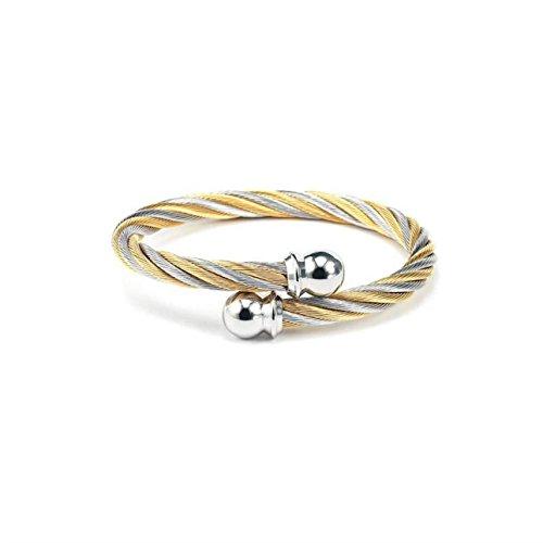 New Charriol Celtic Jewels Bracelet Bangle 04-801-1216-0 Large Unisex Jewelry