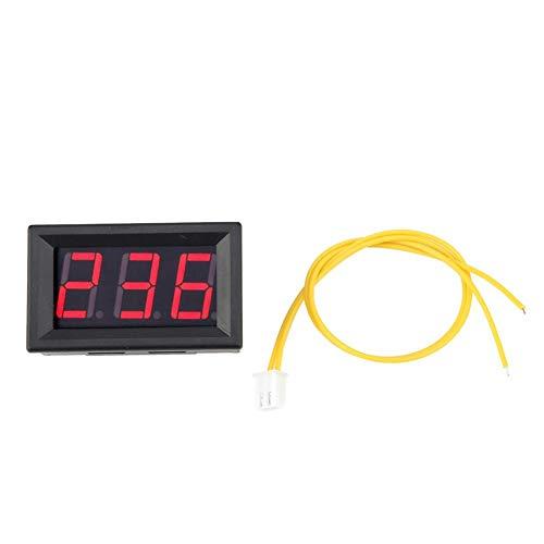 LED Digital Voltmeter AC 70-380 V Volt Batterie Meter Tester Spannungsüberwachung (Red)