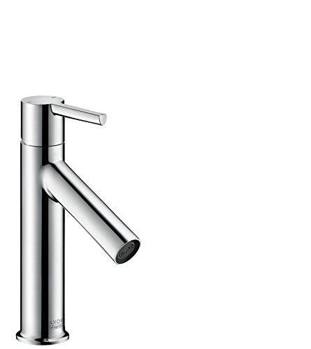 AXOR Wasserhahn Starck (Armatur mit Auslauf Höhe 100 mm und Zugstangen-Ablaufgarnitur) Chrom