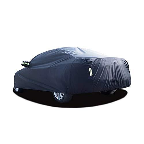 Cubiertas del coche universal completo impermeable al aire libre Sun lluvia ácida protección UV nieve coche paraguas negro cubierta de auto SUV Sedan Hatchback (Color Name : SUV)