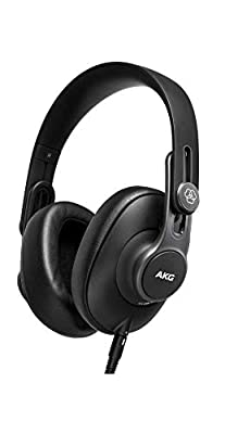 AKG K361 Over Ear Closed Back Foldable Studio Headphones,One size Fits All,Black from AKG