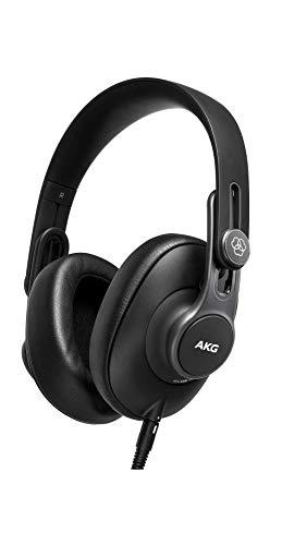 AKG K361 Over Ear-Studiokopfhörer mit geschlossenem Design zum Zusammenklappen, Einheitsgröße für alle, schwarz