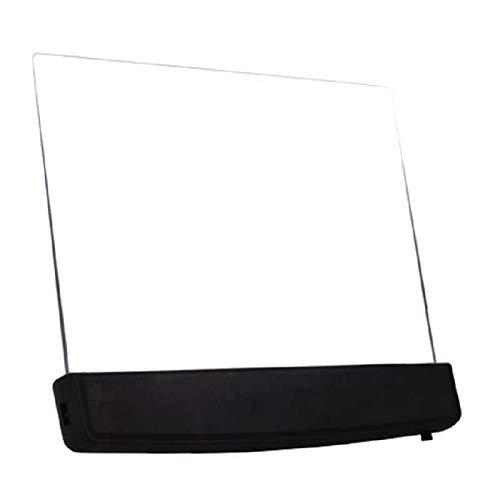 xxz Luz de Lectura LED, luz de Libro LED de Placa Plana portátil, lámpara de Lectura de Libro de Panel LED, lámpara de Lectura para el Cuidado de los Ojos, para Leer en el Coche Cama