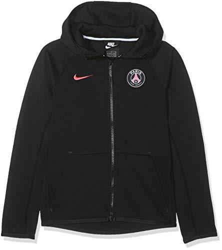 Nike - Fitness-Pullover & -Sweatshirts für Mädchen in Black/Hyper Pink, Größe XS