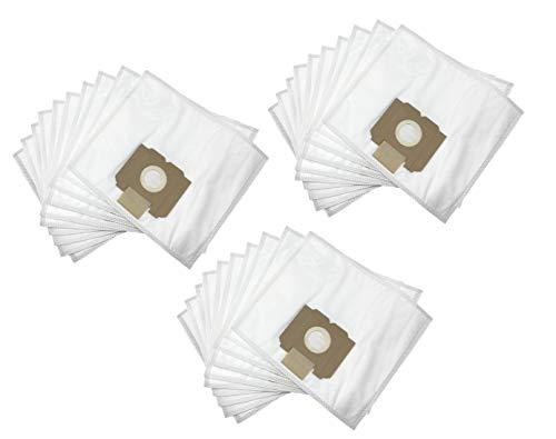 DREHFLEX - 30 Staubsaugerbeutel Fleece Stoff Vlies mit 3 Filter passend für AEG Gr. 28