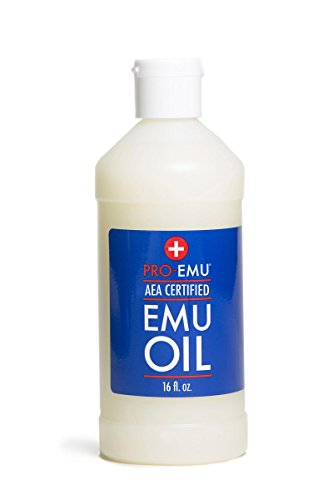 PRO EMU OIL (16oz) All Natural Emu Oil - AEA Certified - Made In USA - Best All Natural Oil for Face, Skin, Hair and Nails.