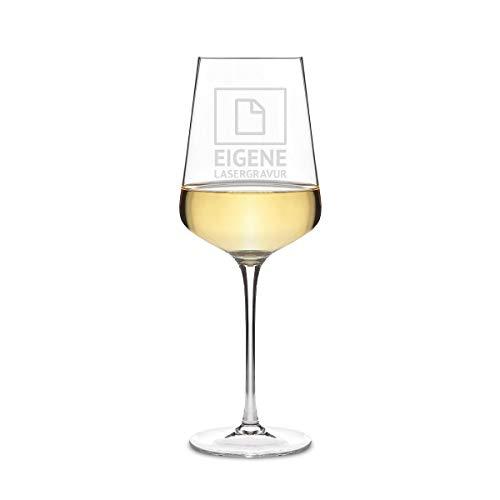 Leonardo Weißweinglas 560 ml Weinglas mit individueller Gravur als Geschenk für Frauen - Eigene Gravur