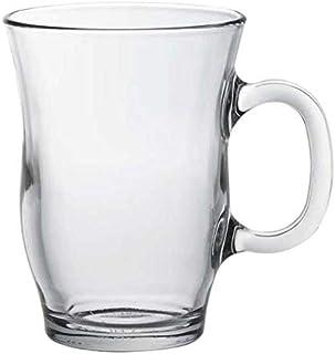 熱湯 電子レンジ 食洗機OK ガラス マグカップ 強化/デュラレックス DURALEX エッフェルマグ 250cc /業務用 家庭用 スタッキング おしゃれ 紅茶 コーヒー