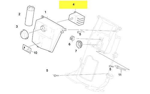 Disjoncteur 10A Contacteur Marche Arret Pour Nettoyeur Haute-Pression Karcher – 66311900