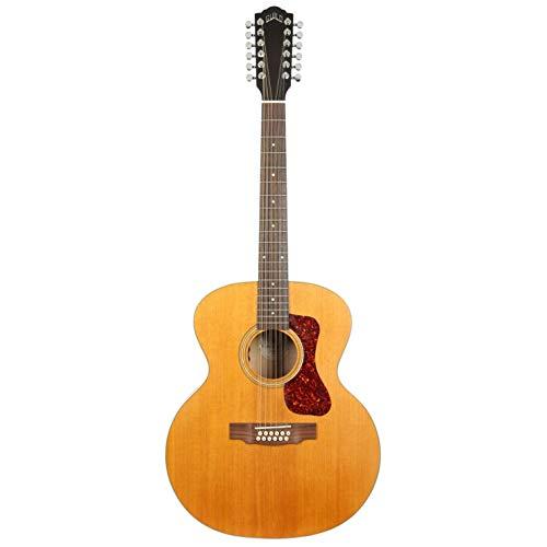 Guild Guitars F-2512E - Guitarra acústica de arce (12 cuerdas), color rubio