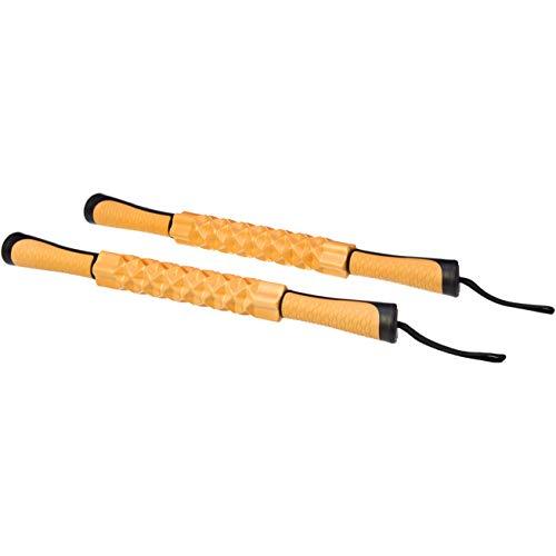AmazonBasics – Sport-Massageroller für die Muskeln, Orange, 2 Stück