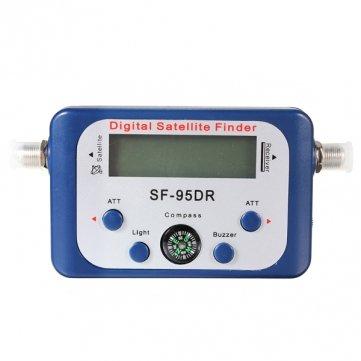 SF Pakhuis - 95DR Digital Satellite Finder metros de señal de red DIRECTV