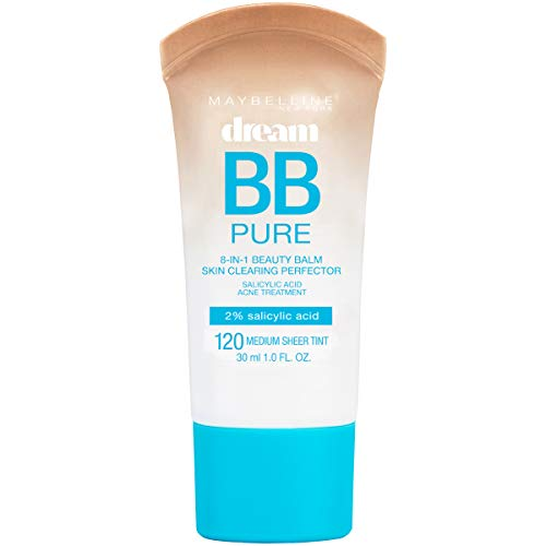 Maybelline Dream Pure BB Cream, Light/Medium, 1 Ounce