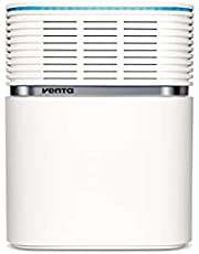 Venta Lufttvättare AeroStyle LW74 WiFi, luftfuktare och luftrening (upp till 10 µm partiklar) för rum upp till 90 kvm, signalvit, inkl. WiFi/WLAN-modul