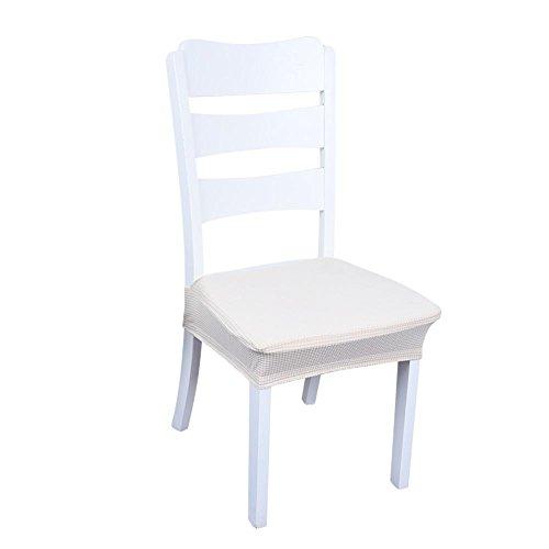 Jannyshop Stuhlhussen für Esszimmerstühle wasserdichte Schonbezüge Elastische Stuhl Protektoren D
