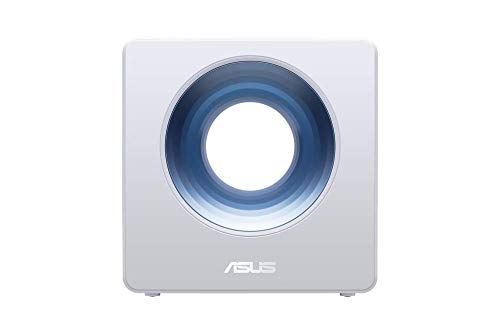 ASUS Blue Cave - Router Inalámbrico AC2600 Doble Banda simultánea Gigabit (procesador Intel Doble núcleo, Amazon Alexa, IFTTT, Aiprotection, compatible con Ai Mesh wifi)