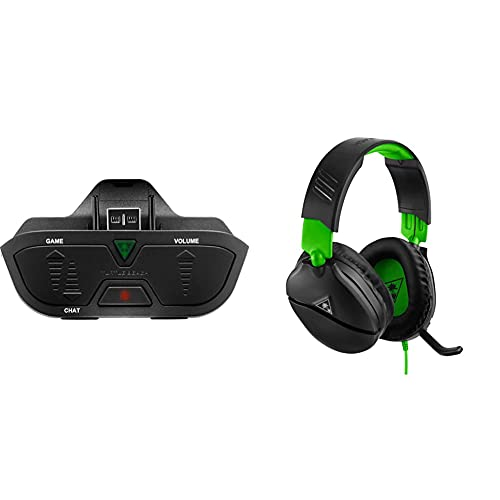 Turtle Beach Headset Audio Controller Plus for Xbox Series X|S & Xbox One & Recon 70 Gaming Headset for Xbox One & Xbox Series X|S, Playstation 5, PS4 Pro & PS4, Nintendo Switch, and Mobile