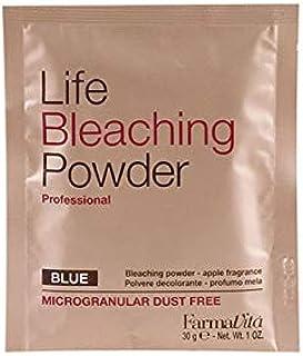 Life Bleaching Powder Azul 30 GM Negro FARMAVITA