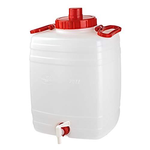 Gärfass Maischefass Mostfass Getränkefass Weinfass Fass Gärbehälter 20 Liter