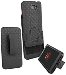 HTC - Droid DNA, Oem New Shell Holster Combo Non Retail Package HTC6435