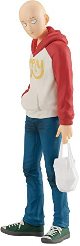 Good Smile Company One Punch Man Pop Up Parade PVC Statue Saitama Oppai Hoodie Ver. 17 cm