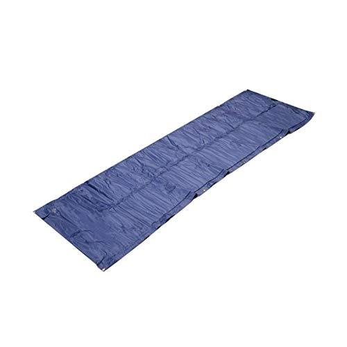 Colchón inflable para aire libre, inflable, a prueba de humedad, colchoneta para cama individual, portátil, cojín de aire grueso, colchón de aire (color: A)
