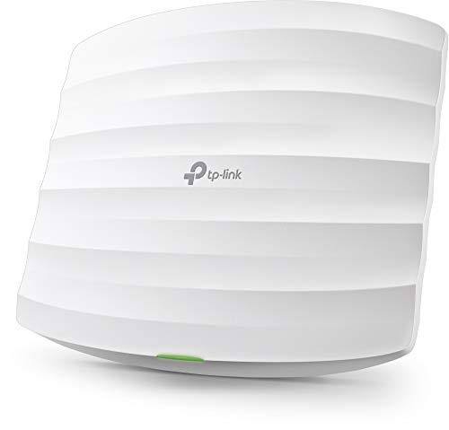 TP-Link EAP115 N300 WLAN Access Point (300Mbit/s 2,4GHz, Cloud Management, passend für Wand- und Deckenmontage, unterstützt 802.3af PoE) weiß