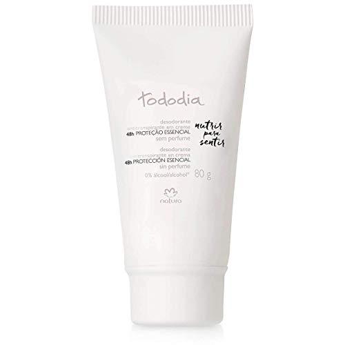 Linha Todo Dia (Sem Perfume) Natura - Desodorante Antitranspirante Feminino Em Creme 80 Gr - (Natura Every Day (Unscented) Collection - Cream Antiperspirant Deodorant For Women Net 2.82 Oz)