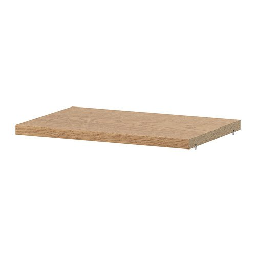 Ikea BILLY - Estante extra, chapa de roble - 36x26 cm