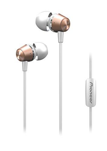 Pioneer SE-QL2T(P) Auriculares intraaurales (Cuerpo de Aluminio, Auriculares, Panel de Control, micrófono/Manos Libres, Ligeros, Compacto, para iPhone, Smartphones Android, Tablet), Rosa