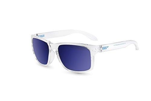 Pegaso Rocky zonnebril wit/spiegel blauw Revo, 55 unisex