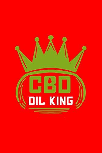 CBD Oil King: Dot Grid Journal - CBD Oil...