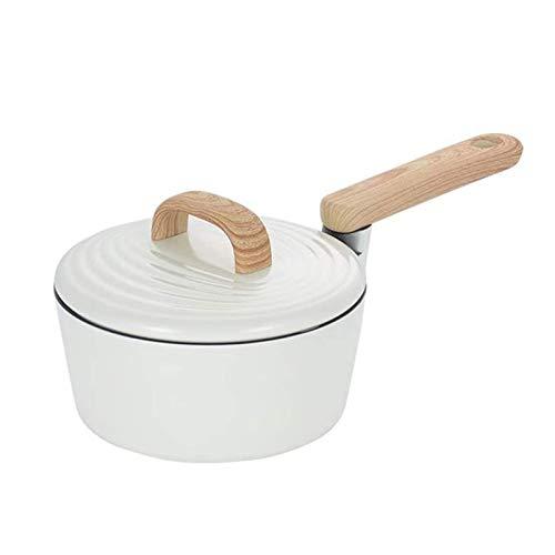 Adesign Set de utensilios de cocina Pot y sartén Set de sartenes antiadherentes PANTANTES DE FRITANDO CONJUNTO DE SOJAJE DE RECURENDO, Pote de leche, Cocina de inducción de los hogares, Pote de comple