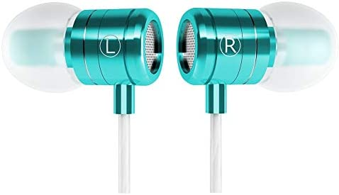 Granvela HD Aluminium Shell Earbuds with Mic for iPhone iTouch and Other 3 5mm Plug Music Devices product image