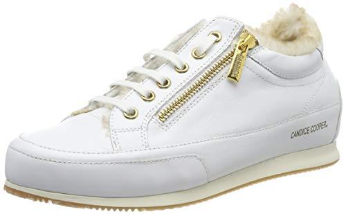 Candice Cooper Rock Deluxe Zip, Zapatos de Cordones Derby para Mujer, Blanco (Bianco 000), 41 EU