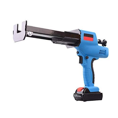 Gxnimer Pistola de calafateo eléctrica inalámbrica de Doble Tubo - Pistola de...