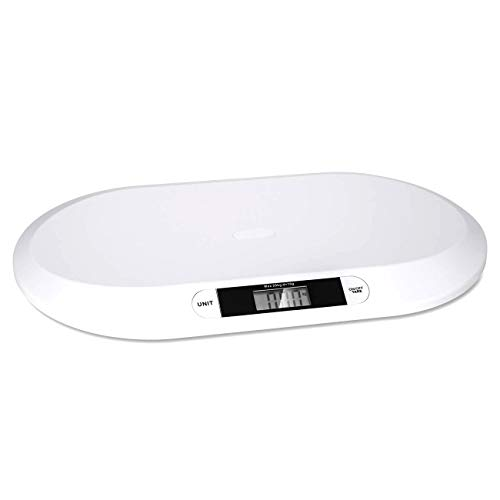 Baby Scale, Pet Scale, Smart Weigh Baby Scale, Weighs [LB/ST/KG], Accurate Digital Scale for Infants, Toddlers, and Babies, Newborn/Puppy, Cat – Animals