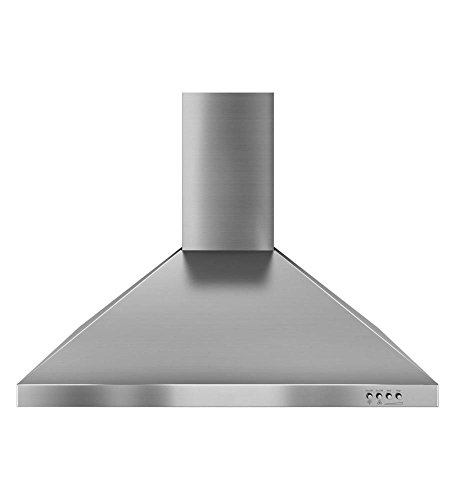 30-inch Vented 400-cfm Wall-mount Canopy Hood - Stainless Steel