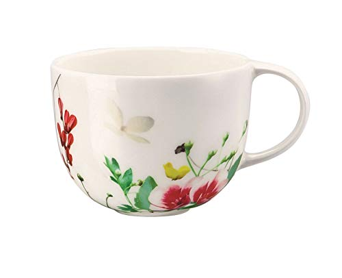 Rosenthal Brillance Fleurs Sauvages Espressotasse, Knochenporzellan, Mehrfarbig, 15 x 15 x 5 cm