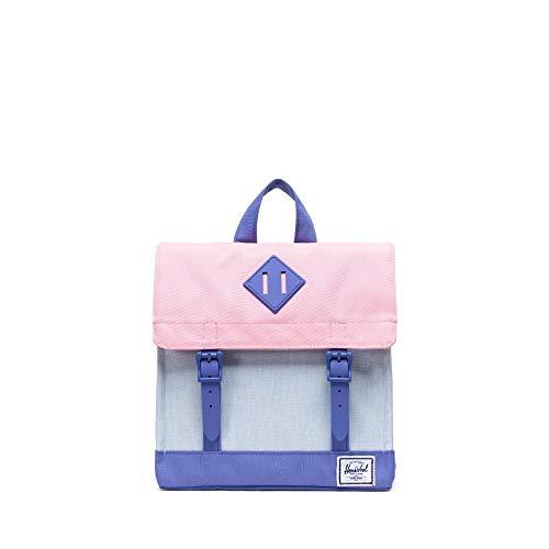 Herschel Survey Kids Ballad Blue Pastel Crosshatch/Candy Pink/Dusted Peri