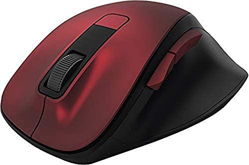 Hama 00182634 Kabellose Ergonomische Maus, rot
