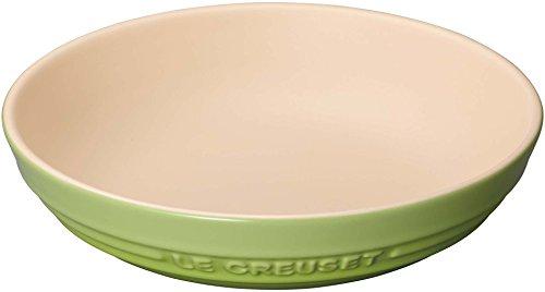 ルクルーゼ ラウンド ディッシュ 耐熱皿 20cm フルーツ グリーン 910344-20-71
