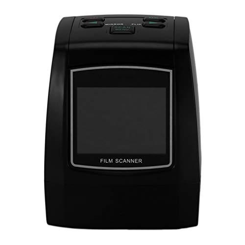 Exanko 22Mp Soporte 35Mm 110 Diapositiva Negativa 126Kpk Super 8 Film Silde Scanner Digital Converter EU Plug