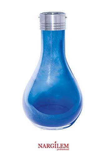 NARGILEM V2A Mini Bowl (mit Gewinde) NPS Shisha, Shiny Blue