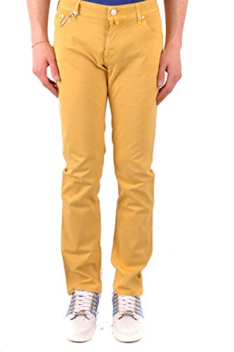 Jacob Cohen Luxury Fashion Uomo J622COMF00566352 Giallo Cotone Pantaloni | Stagione Outlet