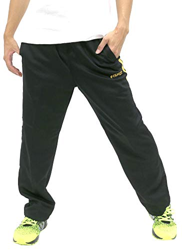 [ケイパ] ランニングウェア ジャージ メンズ 下 ズボン ロングパンツ 吸汗速乾 柄1 M