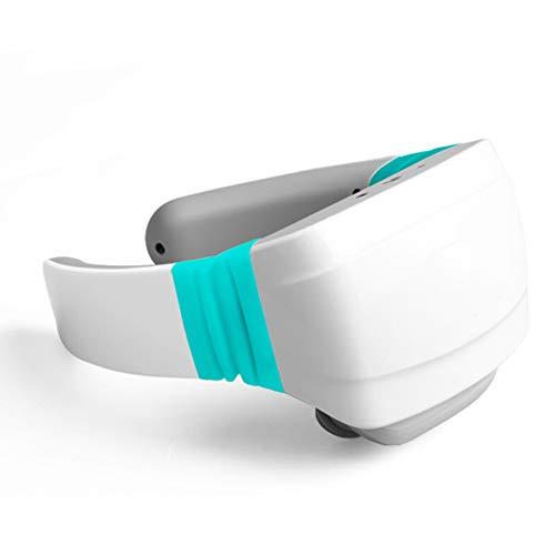 Halsmassageapparaat hals Intelligent Voice Cervical Pulse verwarming kneden acupunctuur onderhoud elektrisch massageapparaat blauw