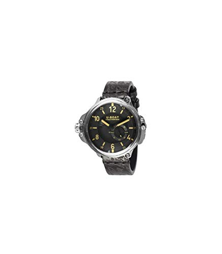 U-Boat Capsule Automatik Uhr, Titan, 50mm, Limitierte Edition, 8189