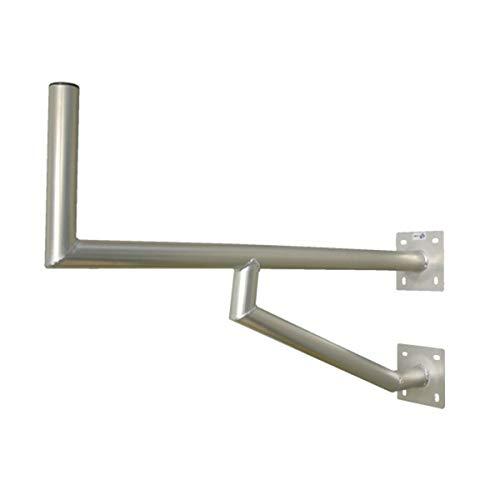 PremiumX 100cm Wandhalter Aluminium mit Zwei Wandplatten SAT Antenne Wand Montage Halter Wandabstand 1000mm Wandausleger