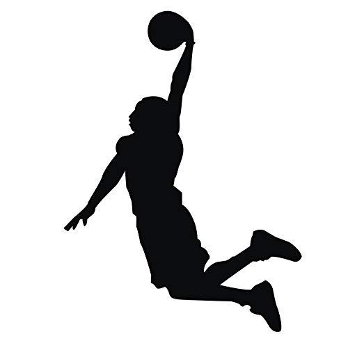 Jugador de Baloncesto Chicos Personalizado Nombre Mural Pegatina de Pared, vinilos decorativos pared dormitorio Stickers Pegatinas pared decorativas Decoracion pared